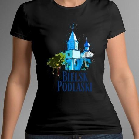 koszulka Bielsk Podlaski Cerkiew św Michała akwarela