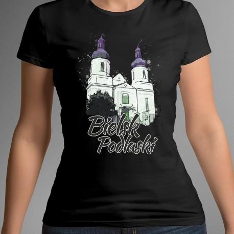 koszulka Bielsk Podlaski kościół NMP akwarela