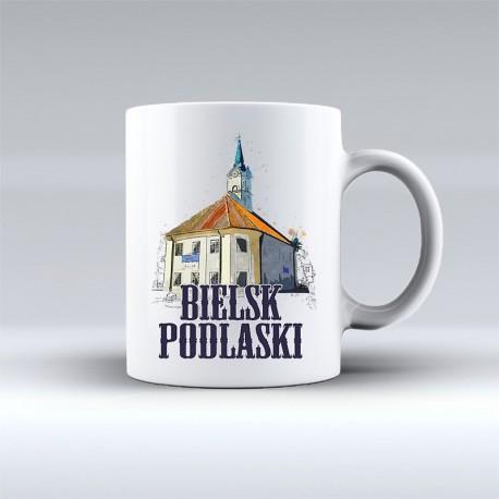 kubek Bielsk Podlaski ratusz akwarela