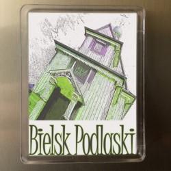 magnes Bielsk Podlaski cerkiew konkatedralna akwarela