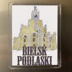 magnes Bielsk Podlaski Kościół Miłosierdzia akwarela