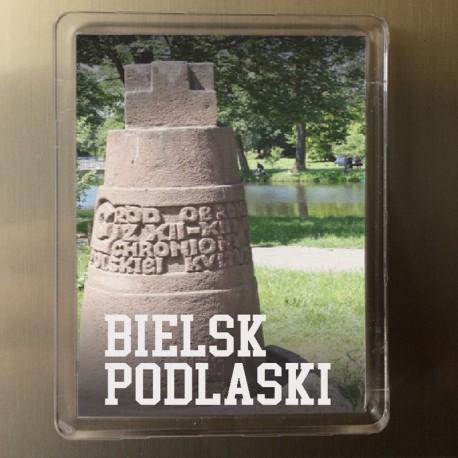 magnes Bielsk Podlaski pomnik góra zamkowa