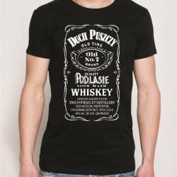 koszulka czarna duch puszczy whiskey