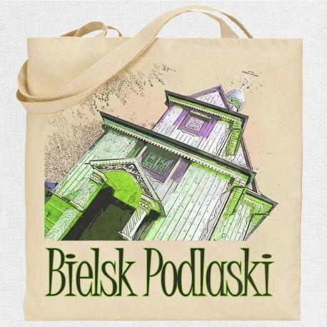 torba Bielsk Podlaski cerkiew konkatedralna akwarela
