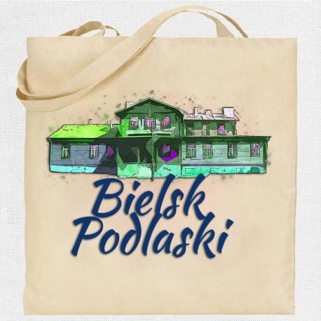torba Bielsk Podlaski dworek Smulskich akwarela