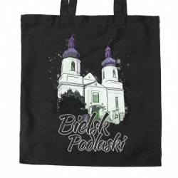 torba Bielsk Podlaski kościół NMP akwarela