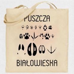 torba Puszcza Białowieska ślady zwierząt