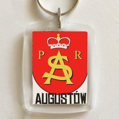 brelok herb Augustów