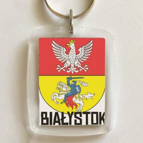 brelok herb Białystok