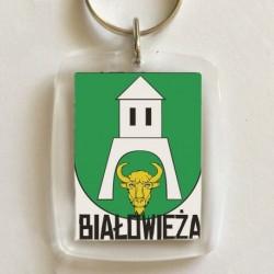 brelok herb gmina Białowieża