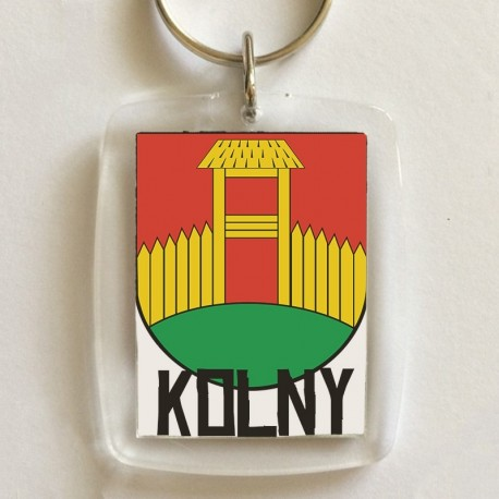 brelok herb gmina Kolny