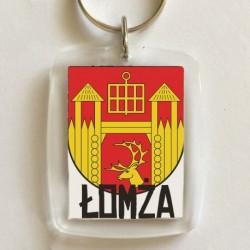 brelok herb gmina Łomża