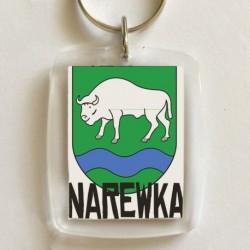 brelok herb gmina Narewka
