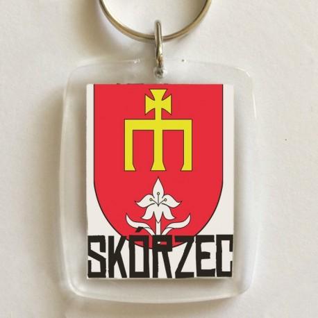 brelok herb gmina Skórzec