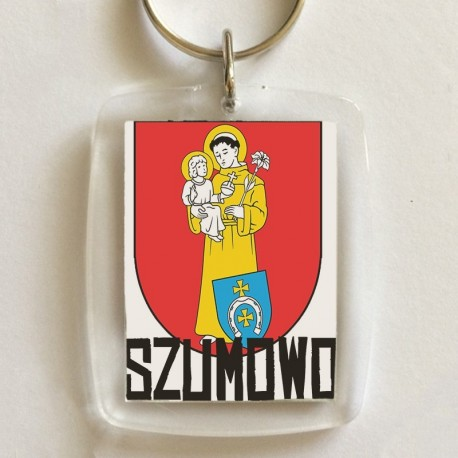 brelok herb gmina Szumowo