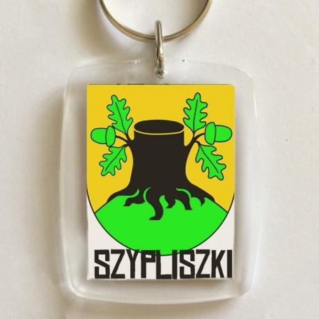 brelok herb gmina Szypliszki