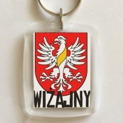 brelok herb gmina Wiżajny