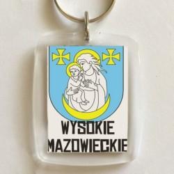 brelok herb gmina Wysokie Mazowieckie