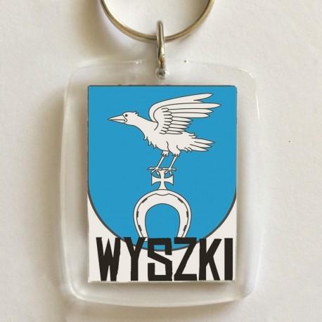 brelok herb gmina Wyszki