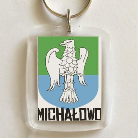 brelok herb Michałowo