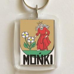 brelok herb Mońki