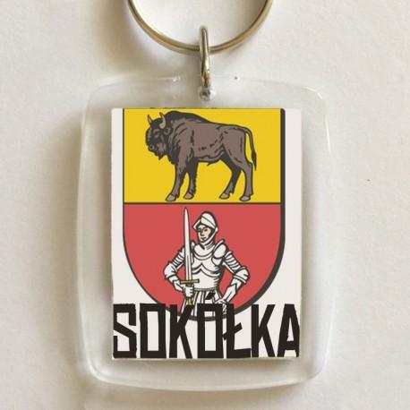 brelok herb Sokółka