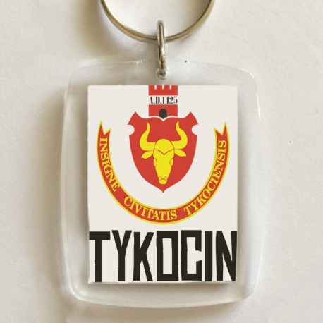 brelok herb Tykocin