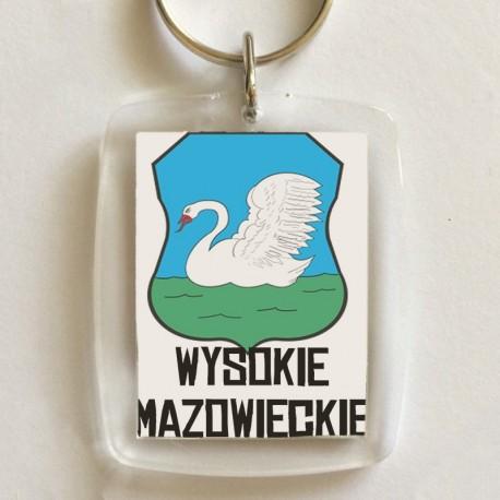 brelok herb Wysokie Mazowieckie