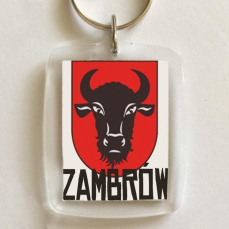 brelok herb Zambrów