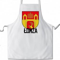 fartuch herb gmina Łomża