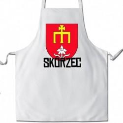 fartuch herb gmina Skórzec