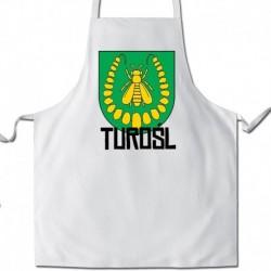 fartuch herb gmina Turośl