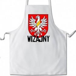 fartuch herb gmina Wiżajny