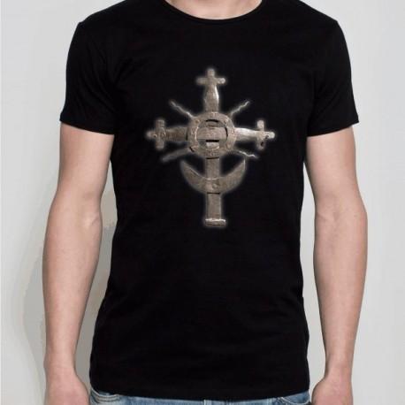 koszulka czarna krzyż z podlasia