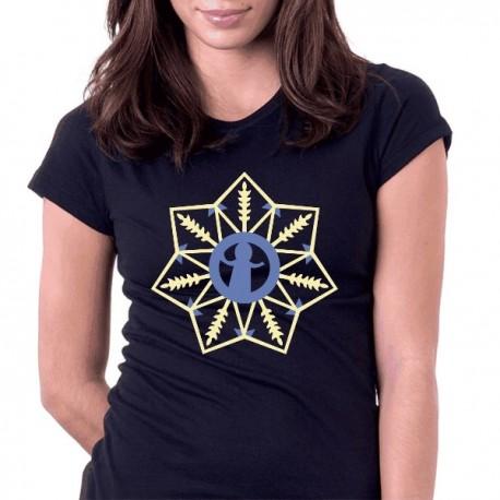 koszulka czarna gwiazdka podlaska bez oczu