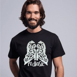 koszulka snycerka z podlasia czarna