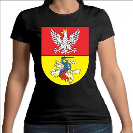 koszulka czarna damska Białystok
