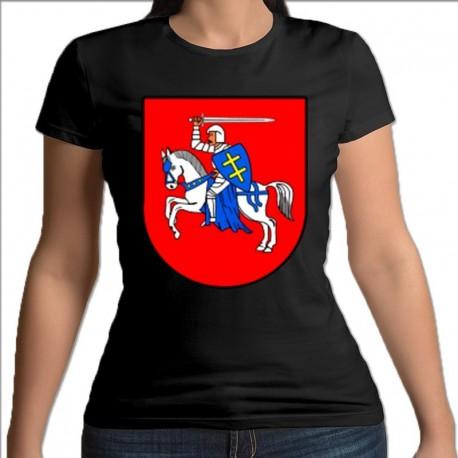 koszulka czarna damska Brańsk