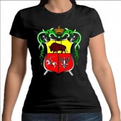 koszulka czarna damska Drogiczyn