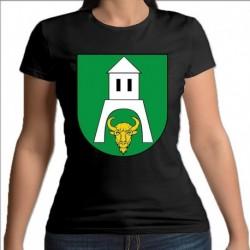 koszulka czarna damska gmina Białowieża