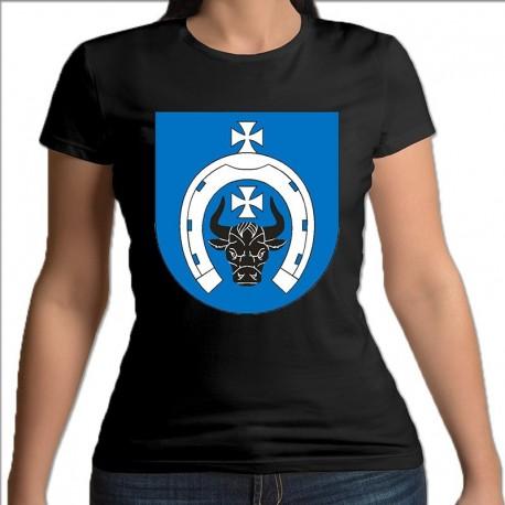 koszulka czarna damska gmina BielskPodlaski