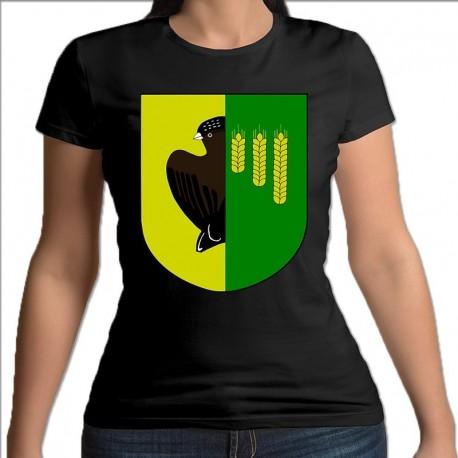 koszulka czarna damska gmina Czyże
