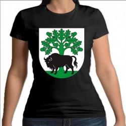 koszulka czarna damska gmina Hajnówka