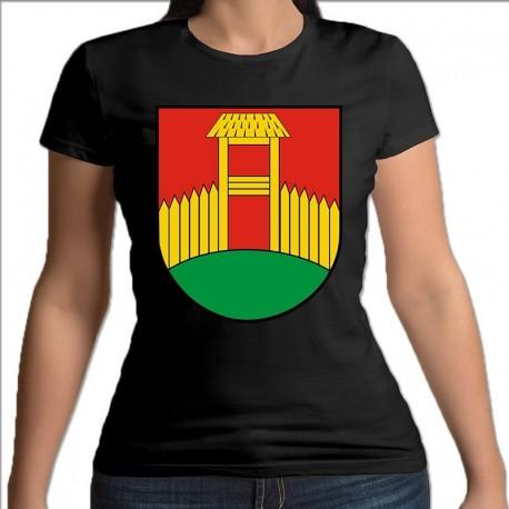 koszulka czarna damska gmina Kolny