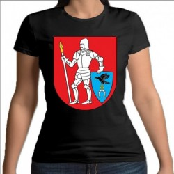 koszulka czarna damska gmina Kulesze Kościelne