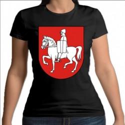 koszulka czarna damska gmina Mały Płock