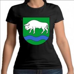 koszulka czarna damska gmina Narewka