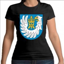 koszulka czarna damska gmina Nowe Piekuty