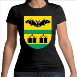 koszulka czarna damska gmina Piątnica