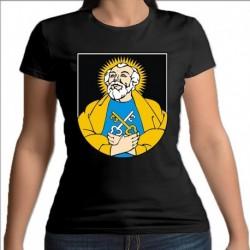 koszulka czarna damska gmina Puńsk